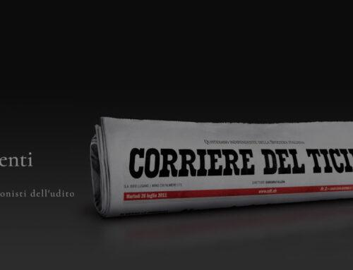 Inserzione Ci Senti sul Corriere del Ticino